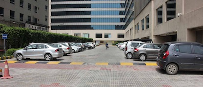 Free parking at coworking space in Sohna Road Gurgaon  -  The Office Pass