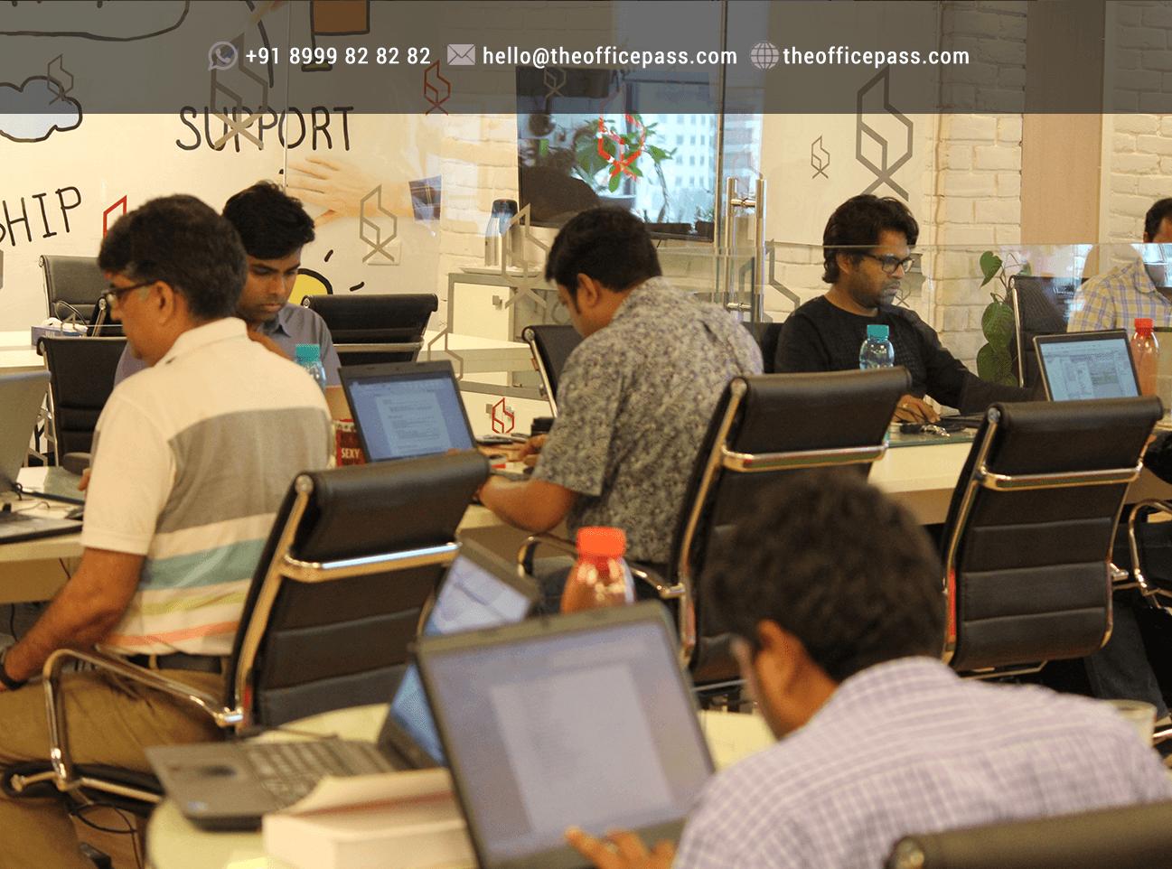 Freelancring taking shape The Office Pass in Gurgaon