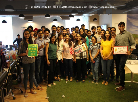 Members at The Office Pass, Coworking Gurgaon