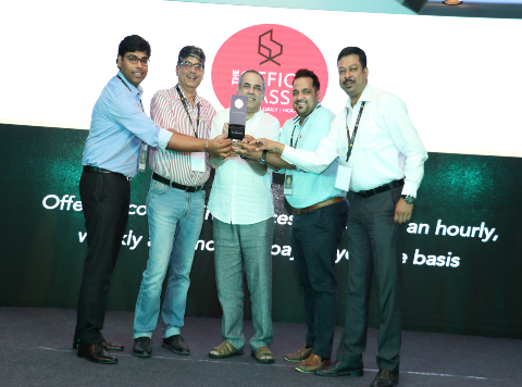 The Office Pass (TOP) awarded Super Startup Asia award
